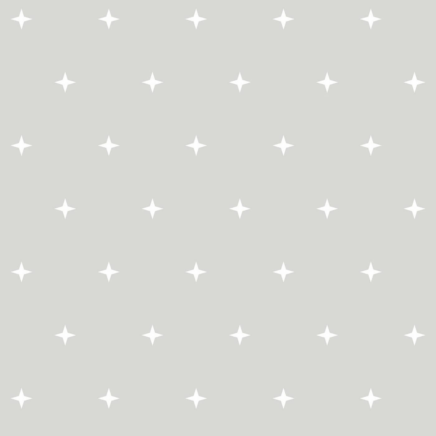 Papel de Parede Estrelas Fundo Cinza