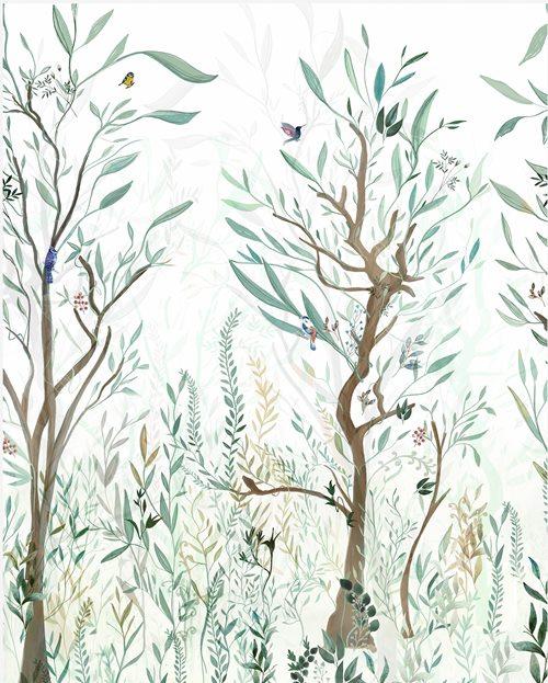Papel de Parede Floresta Encantada