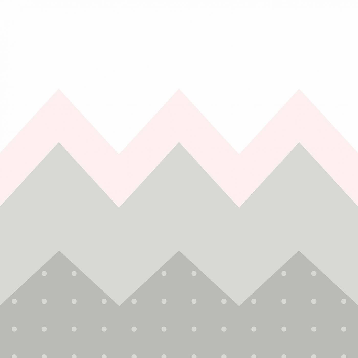 Papel de Parede Montanha Rosa