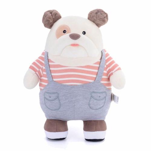 Pelúcia Metoo Doll Bulldog - listrado
