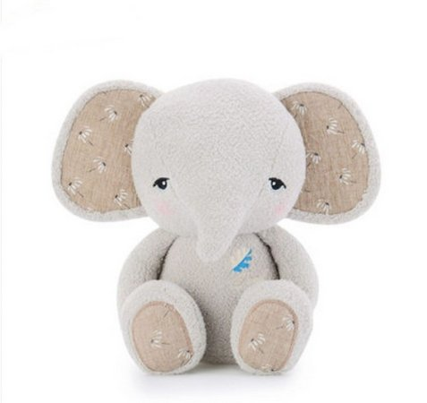 Pelúcia Metoo Elefante Cinza