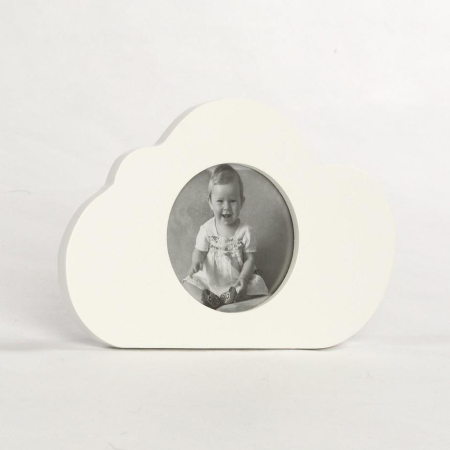 Porta Retrato no Formato de Nuvem