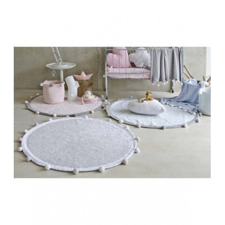Tapete Bubbly Azul 120cm Lorena Canals