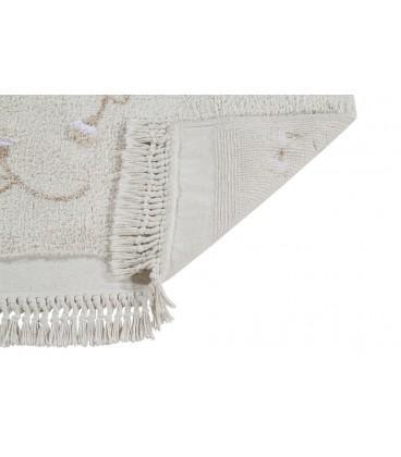 Tapete Lavável Garden Marfim 210 x 140cm Lorena Canals