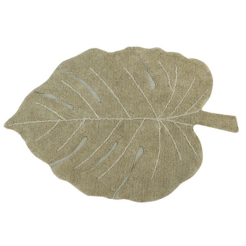 Tapete Monstera Olive 120 x 180cm Lorena Canals