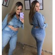 Calça Jeans Tradicional PLUS - 0907Claro