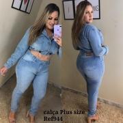 Calça Jeans Tradicional PLUS - 0944Claro