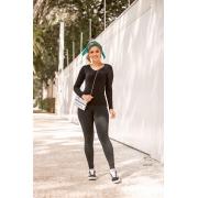 Calça Legging Básica - 40007Preto