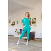 Conjunto de Calça e Blusa Ombro Caído - Life Colors