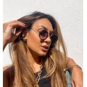 Óculos Fernanda Preto c/ Dourado