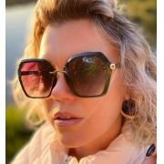 Óculos Fran Marrom