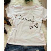 T-shirt Sorria - BL009