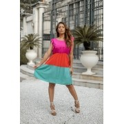 Vestido Curto 3 Marias - 30061Pink