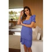 Vestido Curto c/ Amarração - 30078Lilas