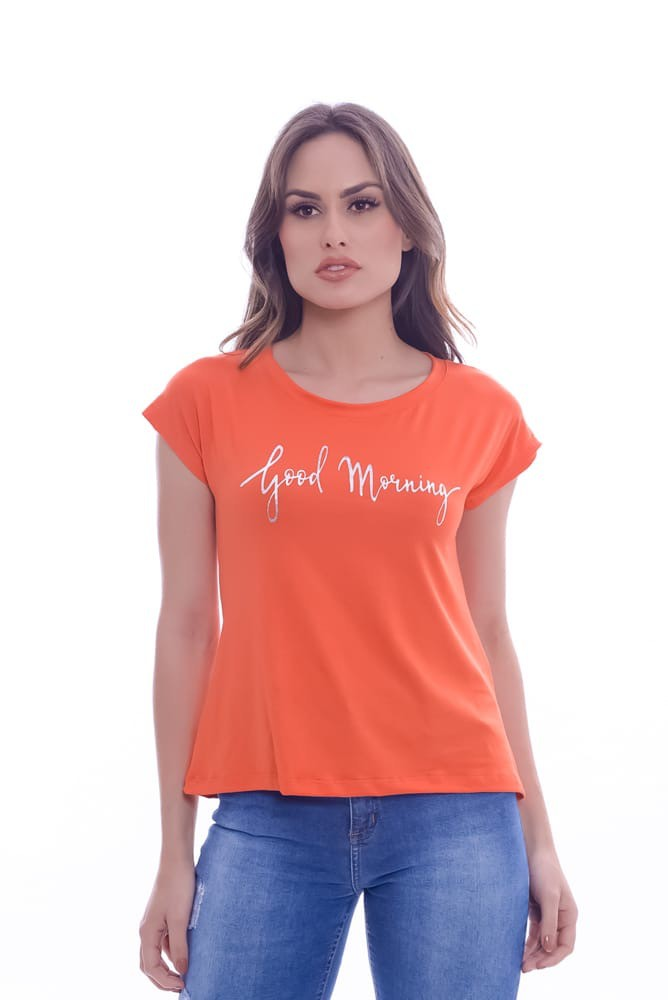 Blusa Manga Japonesa Good Morning - Life Colors