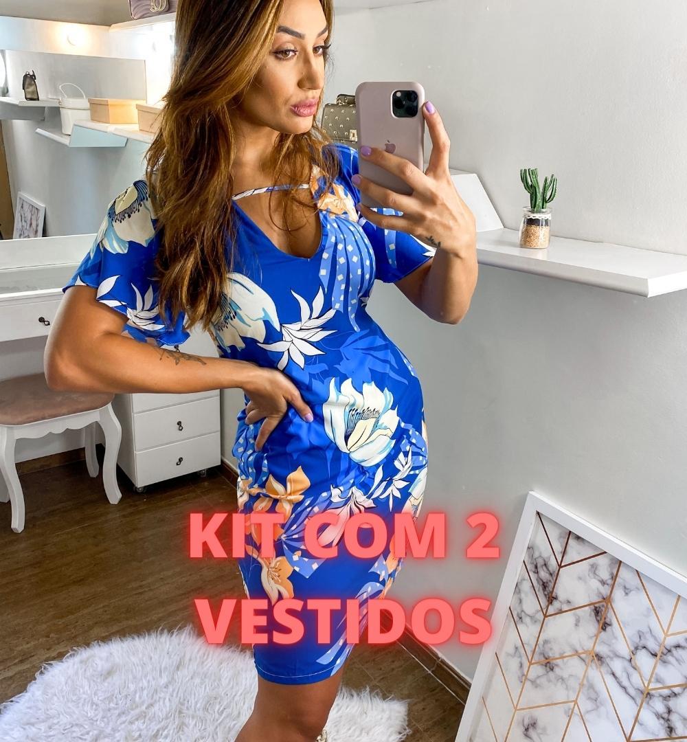 Kit de 2 Vestidos Viscose-KIT001