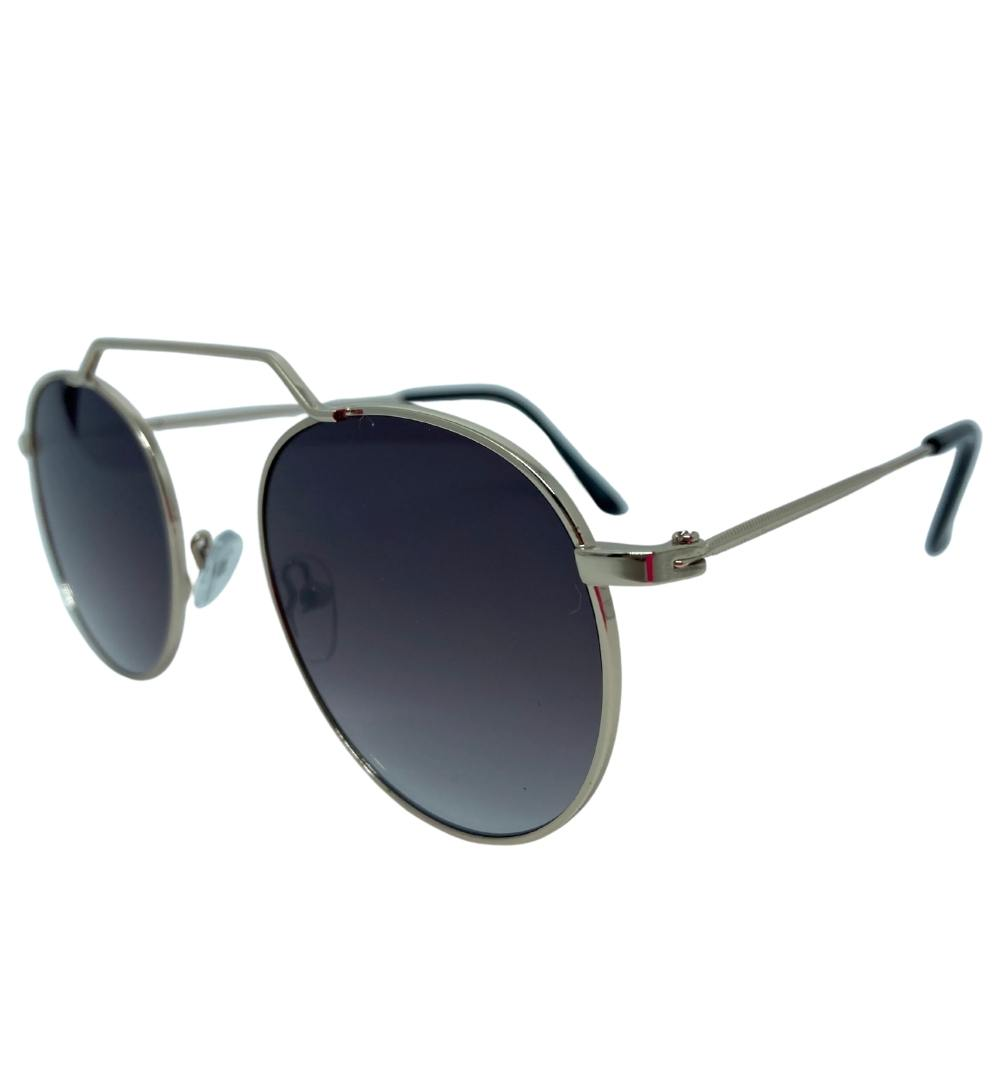 Óculos Bruna Preto c/ Dourado