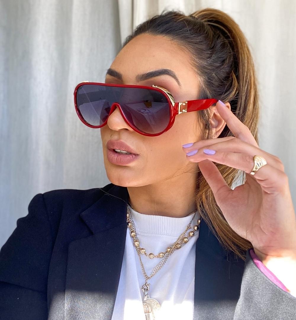 Óculos Carla Vermelho