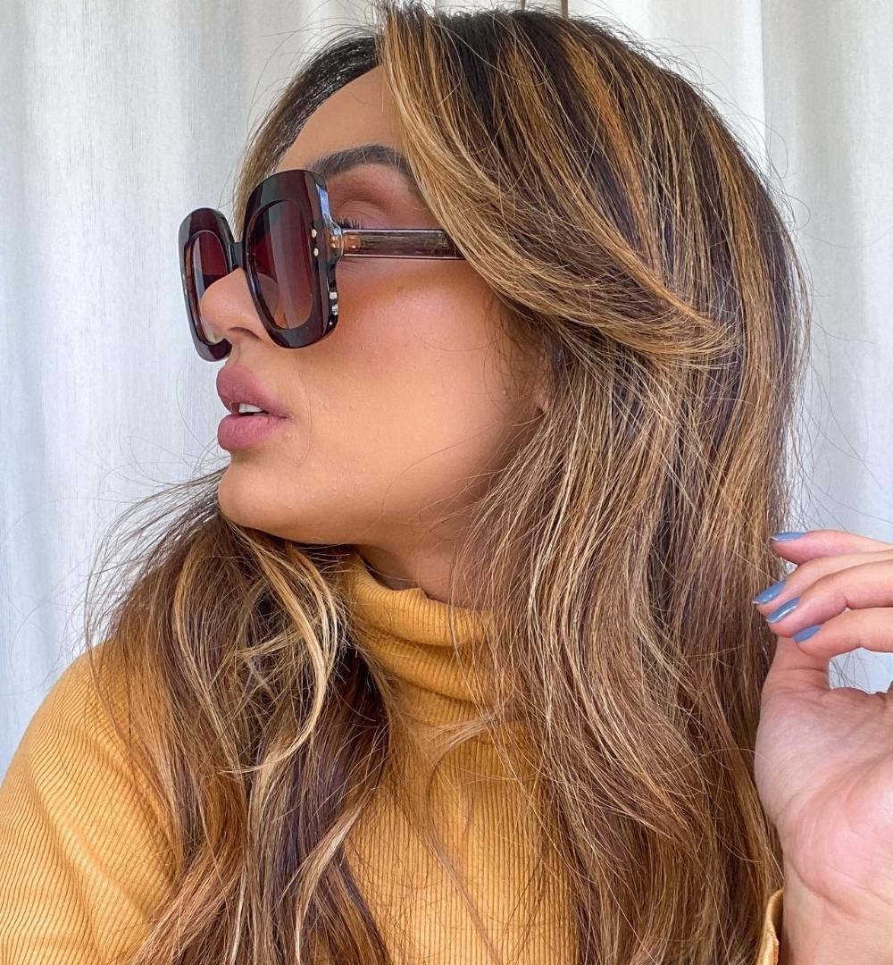 Óculos Malu Marrom