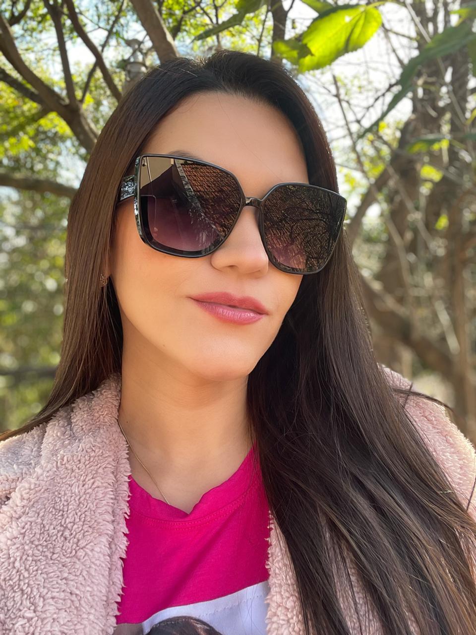 Óculos Mariela Preto
