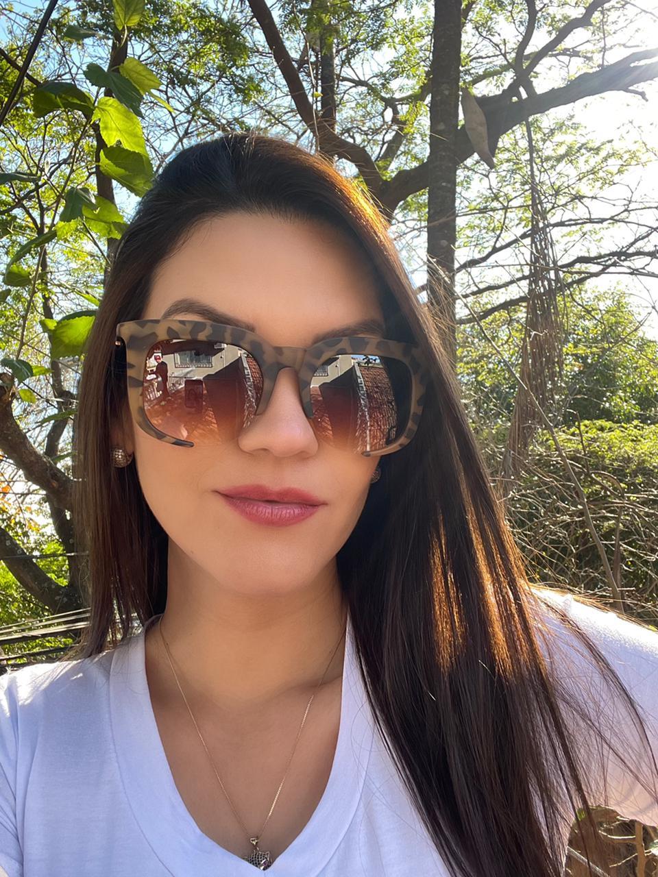 Óculos Naty Oncinha