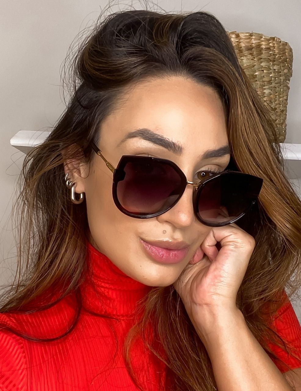 Óculos Paris Preto
