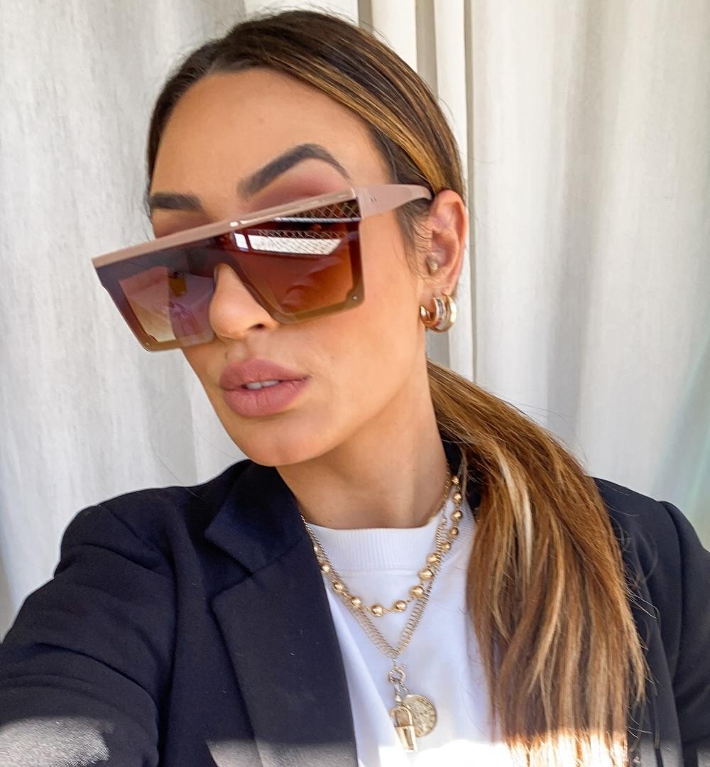 Óculos Thalita Bege
