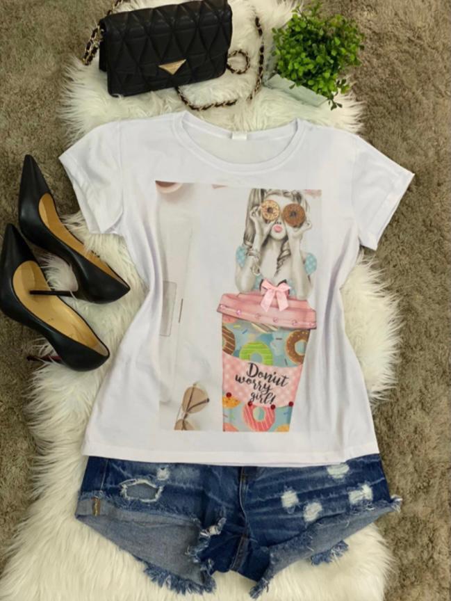T-shirt Donut - BL007