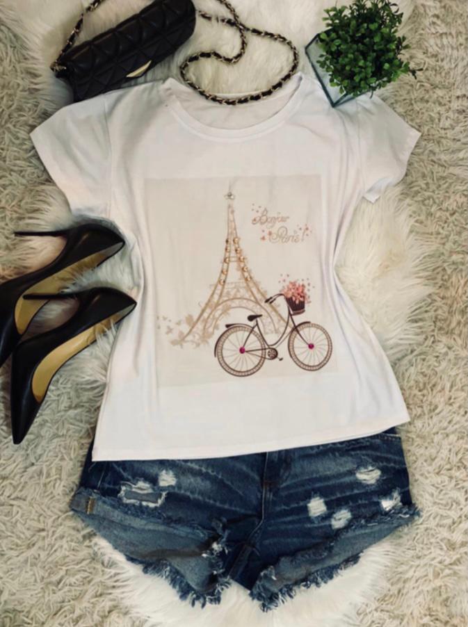 T-shirt Paris - BL004