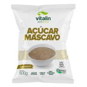 VITALIN AÇÚCAR MASCAVO ORGÂNICO  500G