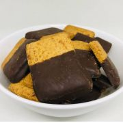 Biscoito de Gengibre e Mel com Chocolate Sem Glúten - 100g