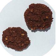 Biscoito LOW CARB de Cacau, sem açúcar e com super fibras prebióticas 100g