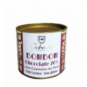 BOMBOM CHOCOLATE 70% COM CASTANHA DO PARÁ GOBECHE - 120G