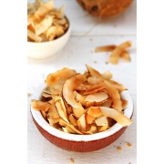 CHIPS DE COCO SALGADO - SABOR LEMON PEPPER 100g