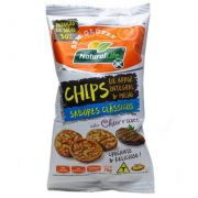 Natural Life Chips Integral de Arroz e Milho 70g