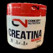 CONCEPT NUTRITION CREATINA 100% PURA MICRONIZADA 150G