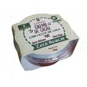 Creme de Cacau Zero Açúcar com Leite de Coco - Embalagem 70g