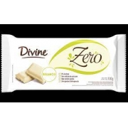 Divine Barra de Chocolate Branco Zero 100g