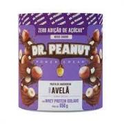 DR PEANUT Pasta de amendoim Avelã com Whey Protein isdolado 650G