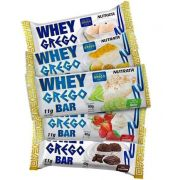 KIT Whey Grego Bar - 5 Barras de 40g - NUTRATA