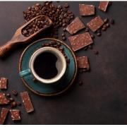 LASCAS 55% CACAU AO LEITE DE COCO COM CAFÉ - 100G