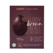 LOOV BROWN MEIO OVO DE PÁSCOA 125G