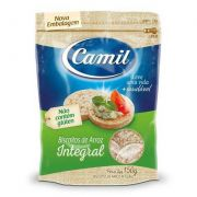 Mini biscoito de Arroz integral Camil 150g