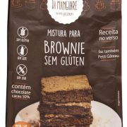 Mistura para Brownie sem glúten e sem lactose Di Mangiare 450g