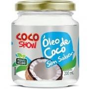 OLEO DE COCO EXTRA VIRGEM  200ML  COCO SHOW