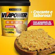 Pasta de Amendoim Integral com Granulado - 1,005kg