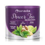 Power Tea Chá verde - Abacaxi com hortelã - 200g
