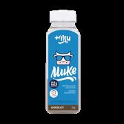 Proteína +Mu Tradicional sabor chocolate garrafinha 32g