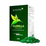 PURA VIDA Clorella Premium (600 tabletes) - 500MG