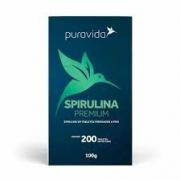PURA VIDA SPIRULINA ORGÂNICA 200 CPS